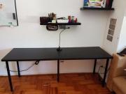 tischplatte linnmon haushalt m bel gebraucht und neu kaufen. Black Bedroom Furniture Sets. Home Design Ideas