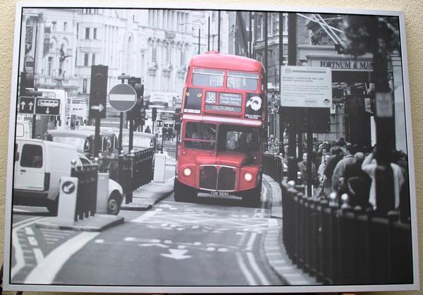 Ikea london bus bild 100x140cm in m nchen dekoartikel for Ikea bild london