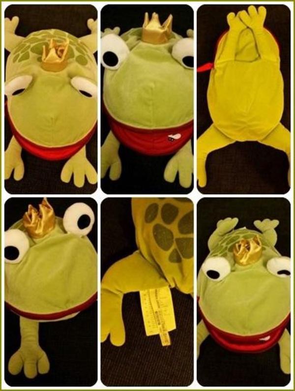 Ikea Minnen Groda Frosch Froschk Nig Mit Schild In