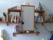 Badm bel sideboard kommode hochschrank badschrank in - Spiegelschrank molger ...