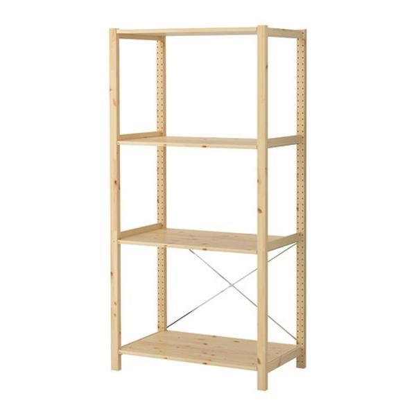 Ikea Nursery Ideas Furniture ~ Beinpaar Aus Ivar Regalen Mit Querstreben Und Spinnenkreuz Pictures to