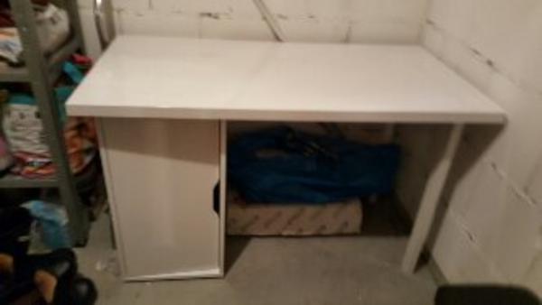 Ikea Faktum Küche Zu Verkaufen ~ weiß schreibtisch weiß  neu und gebraucht kaufen bei dhd24 com