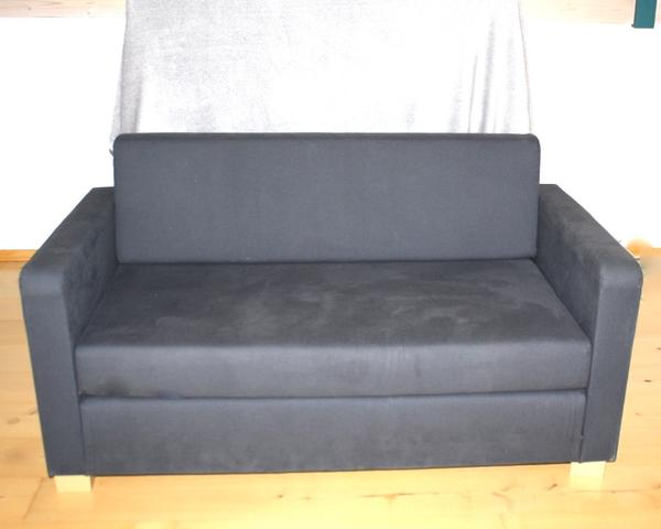 ikea solsta 2 er bettsofa dunkelgrau 137 x 78 x 72 cm sofa. Black Bedroom Furniture Sets. Home Design Ideas