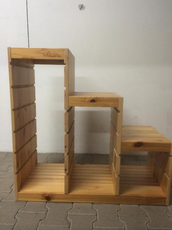 ikea trofast regal aufbewahrung regal kinderzimmer ikea ikea trofast regal in kiefer naturholz. Black Bedroom Furniture Sets. Home Design Ideas