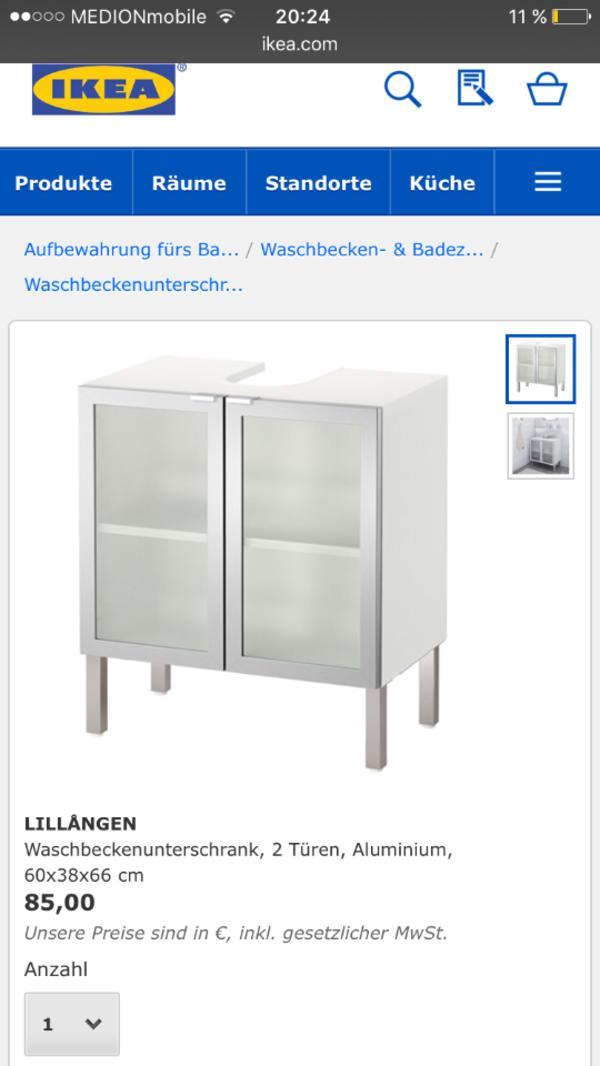 waschbecken mit unterschrank ikea m bel design idee f r. Black Bedroom Furniture Sets. Home Design Ideas