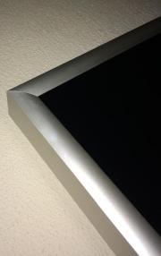 Infrarotheizung Glas/schwarz