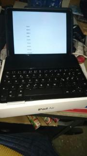 IPad air wifi cellular 16 GB neuwertig!!!! Hallo zusammen ich verkauf meine iPad neuwertig sehr wenig benutzt!!! Mit neuwertig Tastatur für Marke logitech. Die iPad ist neu keine riß keine ... 350,- D-71120Grafenau Heute, 20:49 Uhr, Grafenau - IPad air wifi cellular 16 GB neuwertig!!!! Hallo zusammen ich verkauf meine iPad neuwertig sehr wenig benutzt!!! Mit neuwertig Tastatur für Marke logitech. Die iPad ist neu keine riß keine