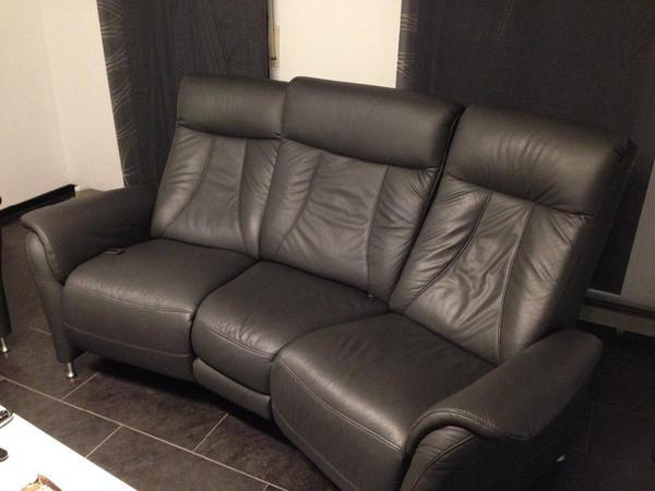 jade l ledergarnitur 3 sitzer u 2 sitzer von polster otten in bruchsal kaufen und verkaufen. Black Bedroom Furniture Sets. Home Design Ideas