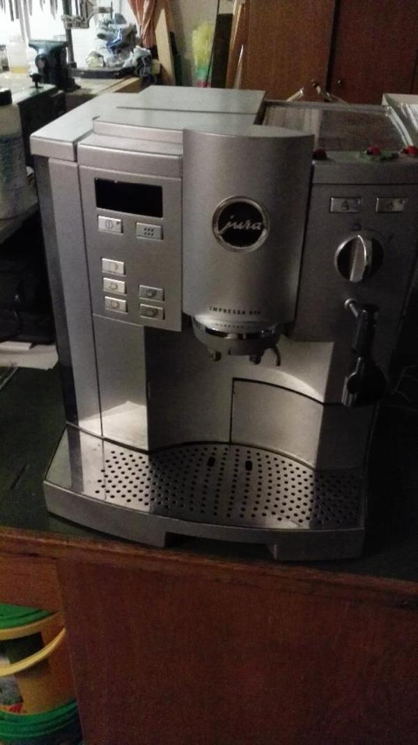jura kaffeeautomat impressa s95 in marloffstein kaffee. Black Bedroom Furniture Sets. Home Design Ideas