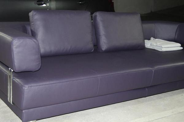 k w ledercouch mit sitzvorzug unbenutzt in m nchen polster sessel couch kaufen und. Black Bedroom Furniture Sets. Home Design Ideas