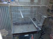 Käfig für Papageien