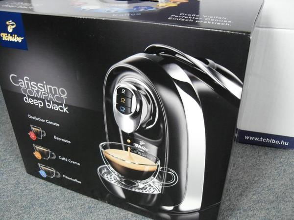 kaffeemaschine cafissimo compact tchibo neu espressomaschine in ludwigshafen kaffee. Black Bedroom Furniture Sets. Home Design Ideas