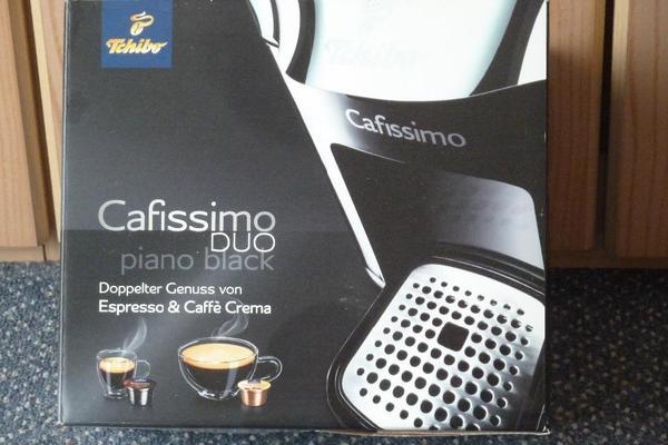 kaffeemaschine cafissimo duo von tchibo neu in worms kaffee espressomaschinen kaufen und. Black Bedroom Furniture Sets. Home Design Ideas