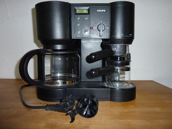 kaffeemaschine krups in wangen kaffee espressomaschinen kaufen und verkaufen ber private. Black Bedroom Furniture Sets. Home Design Ideas