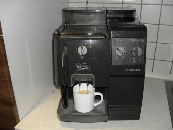 kaffeevollautomat saeco royal classic in mannheim kaffee espressomaschinen kaufen und. Black Bedroom Furniture Sets. Home Design Ideas