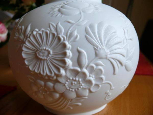 Kaiser Porzellan Geschirr Kaiser Porzellan Vase Bisquit