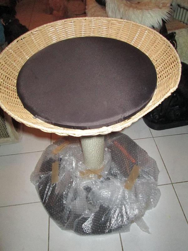 karlie kratzbaum outdoor i katzenbaum mit korb in bochum kaufen und verkaufen ber private. Black Bedroom Furniture Sets. Home Design Ideas