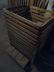 Kartoffelkiste aus Holz,
