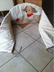 Kinderbett Umrandung von