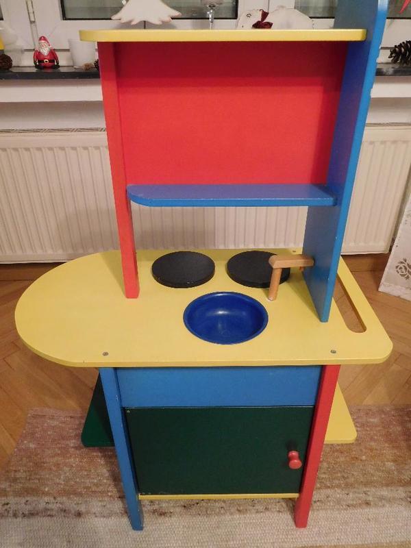 KinderkUche Holz Beidseitig Bespielbar ~ Kinderküche von Brio gebraucht kaufen 76437 Rastatt