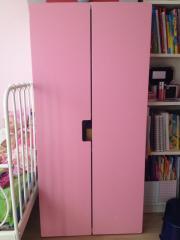 Kinderschrank, rosa /weiß,