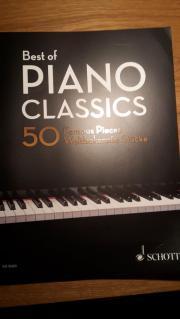 Klaviernoten Best of