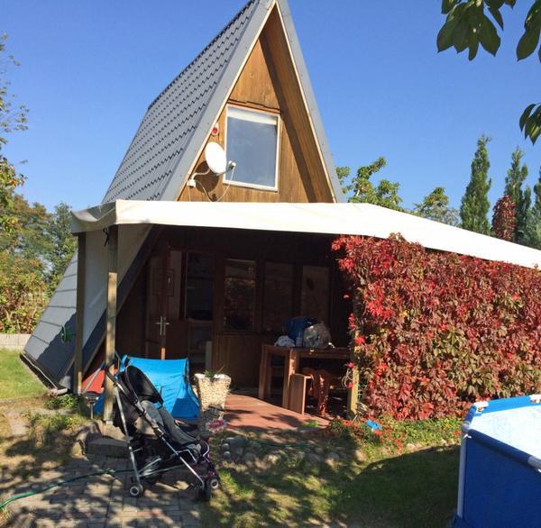 kleingarten mit finnh tte und pool in f rstenwalde schreberg rten wochenendh user kaufen und. Black Bedroom Furniture Sets. Home Design Ideas