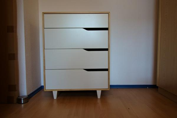 Custom Glass Cabinet Doors Ikea ~ Kommode Ikea Mandal » Schränke, Sonstige Schlafzimmermöbel