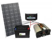 Komplette 220V Solaranlage