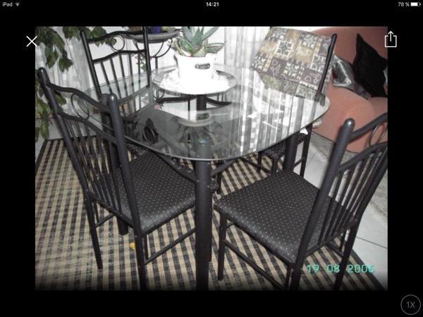esstisch garnitur kaufen gebraucht und g nstig. Black Bedroom Furniture Sets. Home Design Ideas