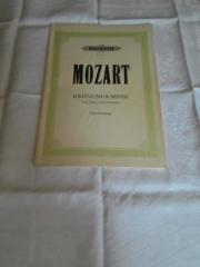 Krönungsmesse Mozart, Klavierauszug