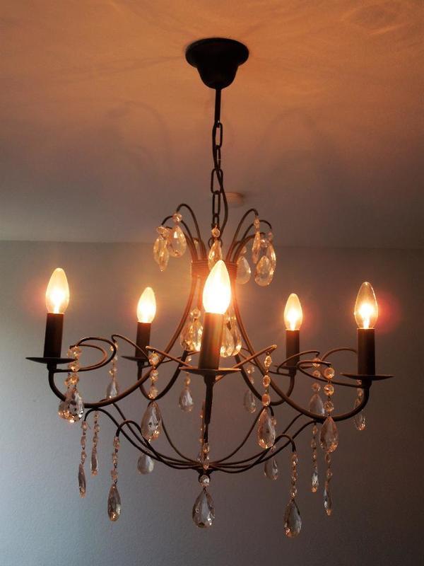 Kronleuchter schwarz kaufen gebraucht und g nstig for Lampen und leuchten bochum