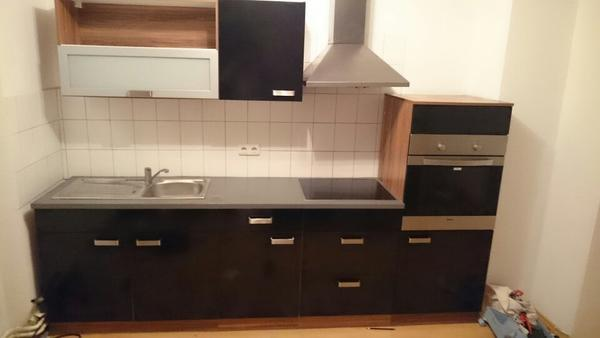 k che komplett mit e ger ten und dunstabzugshaube in n rnberg k chenzeilen anbauk chen kaufen. Black Bedroom Furniture Sets. Home Design Ideas