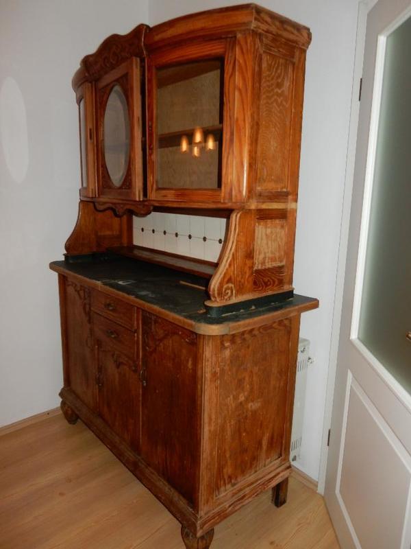 k chenbuffet antik in gleisweiler sonstige m bel. Black Bedroom Furniture Sets. Home Design Ideas