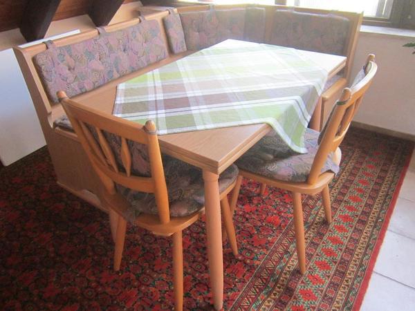 Kücheneckbank aus Buche Küchenmöbel Schränke