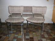 Küchenstühle und Bank