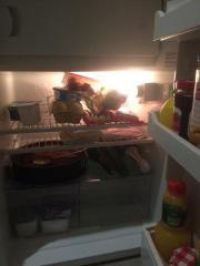 Kühlschrank freistehend weiß
