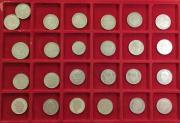 Kursmünzen 23x 2