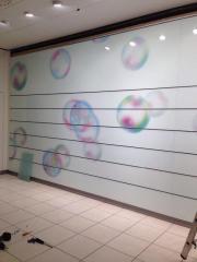 Ladeneinrichtung Wandverkleidung mit