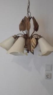 Lampe aus den 50 er Jahren Außergewöhnlich schöne Wohn/Esszimmerlampe aus den 50er Jahren, Rarität, seltenes Stück. , fünf flammig. Lampe bronzefarben mit ... 100,- D-68623Lampertheim Heute, 13:58 Uhr, Lampertheim - Lampe aus den 50 er Jahren Außergewöhnlich schöne Wohn/Esszimmerlampe aus den 50er Jahren, Rarität, seltenes Stück. , fünf flammig. Lampe bronzefarben mit