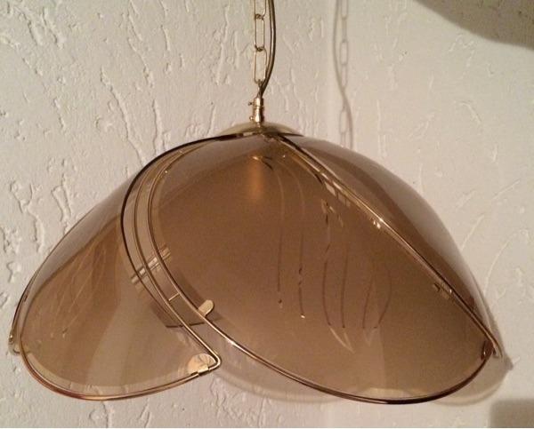 lampenschirm aus glas in tuntenhausen kaufen und verkaufen ber private kleinanzeigen. Black Bedroom Furniture Sets. Home Design Ideas