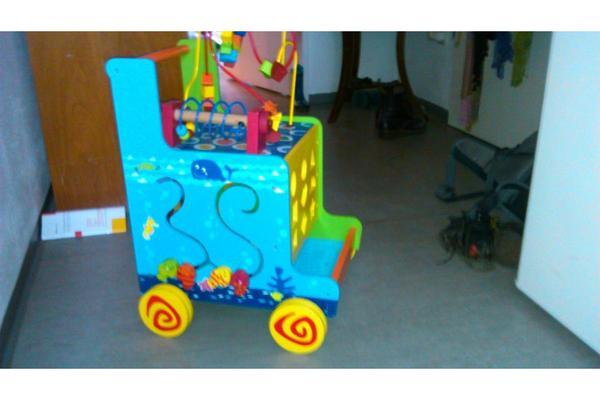 Lauflernwagen Holz Kleinanzeigen ~ Lauflernwagen aus Holz, auch als Spielzeugaufbewahrung verwendbar in