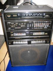 Lautsprecherbox mit Radio/