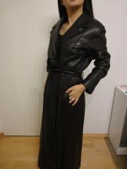 damen ledermantel in münchen  bekleidung  accessoires  günstig kaufen  quokade