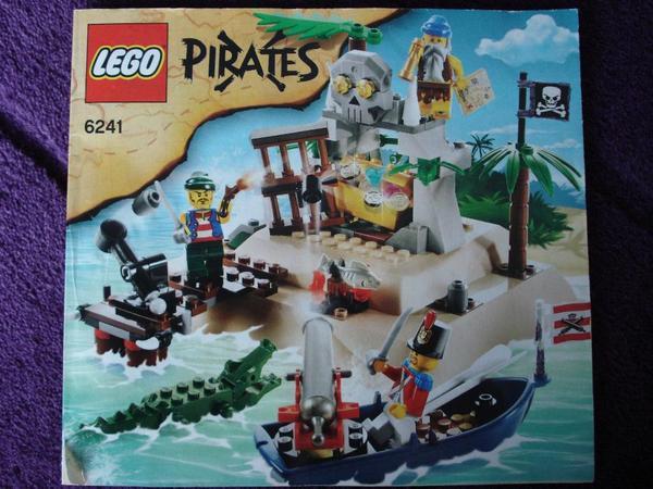 lego pirateninsel 6241 spielzeug lego playmobil aus pforzheim. Black Bedroom Furniture Sets. Home Design Ideas