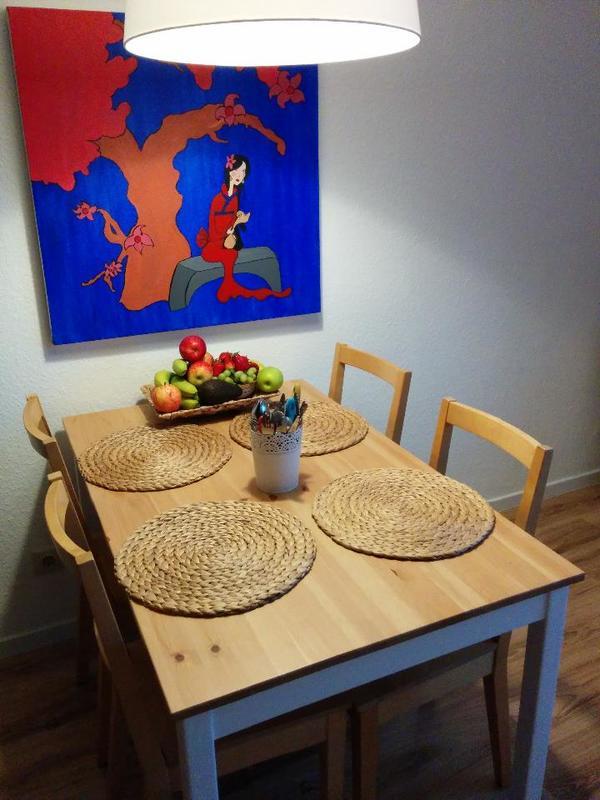lerhamn k chentisch in d sseldorf speisezimmer essecken kaufen und verkaufen ber private. Black Bedroom Furniture Sets. Home Design Ideas