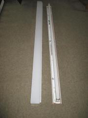 Leuchstofflampe mit Röhre