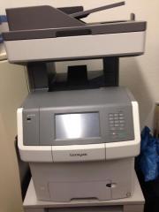 Lexmark X746de - Multifunktionsdrucker -