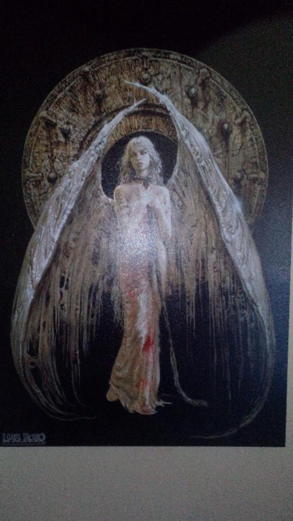 Luis royo iii millenium cover bild 90x60cm gefallener for Dekoartikel stuttgart