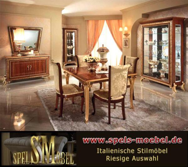 Luxus m bel komplett wohnzimmer giotto canaletto nussbaum for Wohnzimmereinrichtung komplett